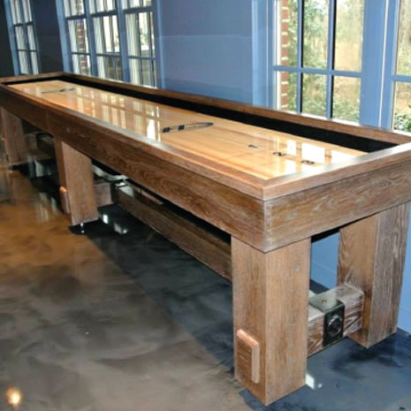 Shuffleboard Tables and Accessories