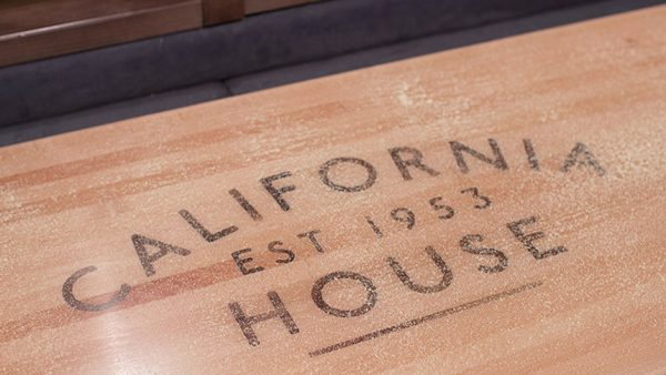 California House Shuffleboard Table