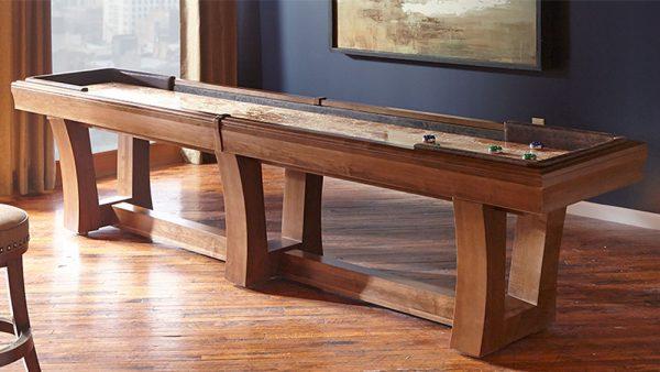 California House City Shuffleboard Table