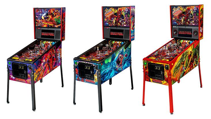 Deadpool Pinball Table