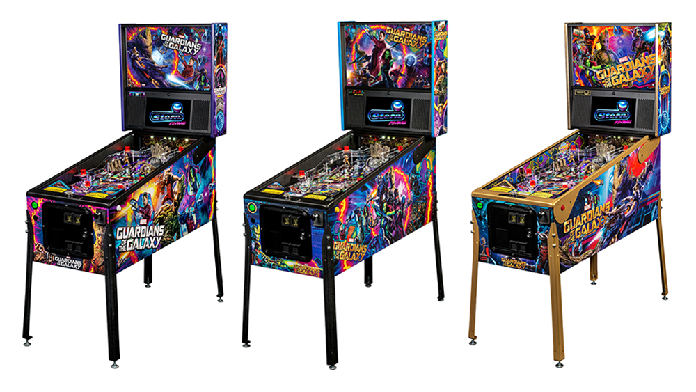 Guardians of the Galaxy Pinball Table