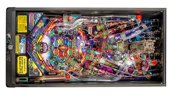 Guardians of the Galaxy Pro Pinball Table